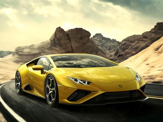 Lamborghini Huracán EVO RWD แลมโบกีนี