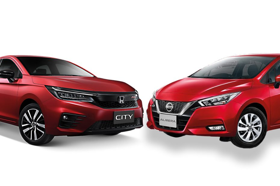 Honda city vs Almera 2020