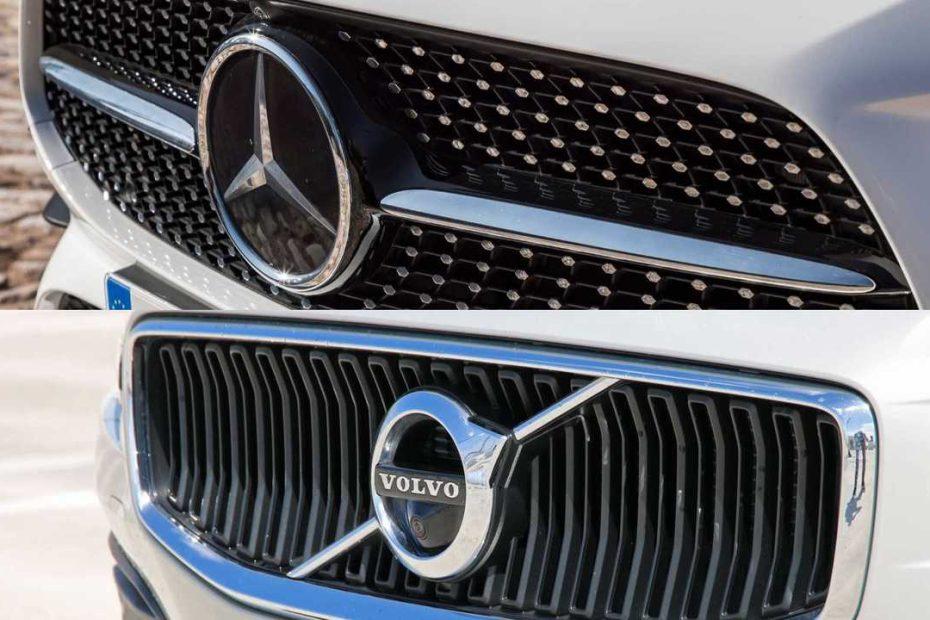 Mercedes Benz Volvo geely