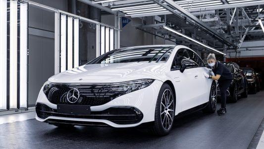 Mercedes-Benz เดินหน้าผลิต EQS อย่างเป็นทางการ