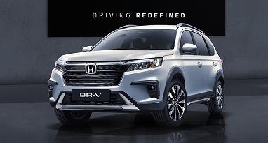 เปิดตัว 2022 New Honda BR-V ครอสโอเวอร์รุ่นใหม่