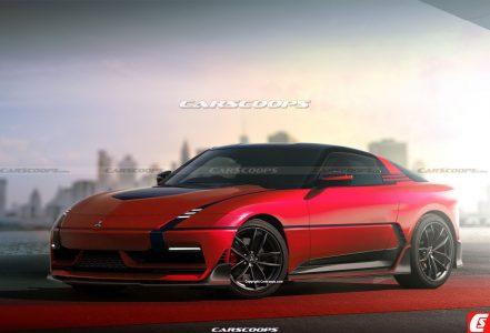 เรนเดอร์ที่อาจไม่มีอยู่จริงของ 2023 Mitsubishi 3000GT(GTO)
