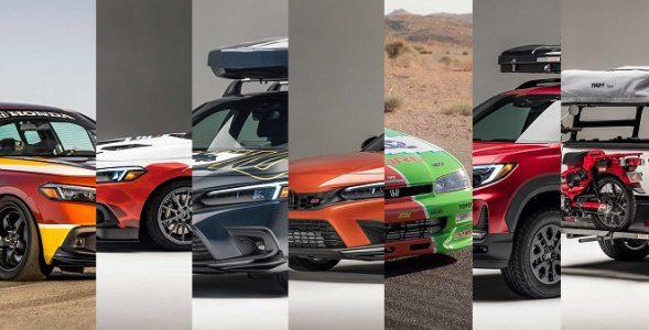 Honda เตรียมขน 7 รถ Custom เข้าร่วมงาน SEMA Show 2021 ที่อเมริกา